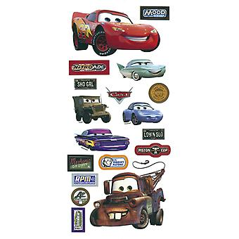 Disney Cars Stickers Borders Packaged Cars Pdcr 7