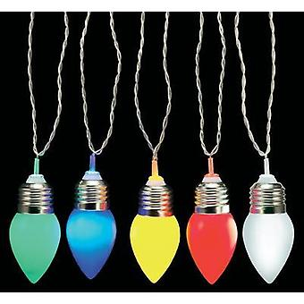 LED Chain party lights Polarlite PSL-01-003 Multi-colour No. of bulbs: 10