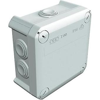 Junction box (L x W x H) 114 x 114 x 57 mm OBO Bettermann 2007061 Light grey (RAL 7035) IP66