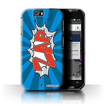 STUFF4 Case/Cover for Motorola IronRock/XT626/Zap/Comics/Cartoon Words