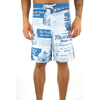 Swimsuit Beach Bad Boys Cartoon - size L