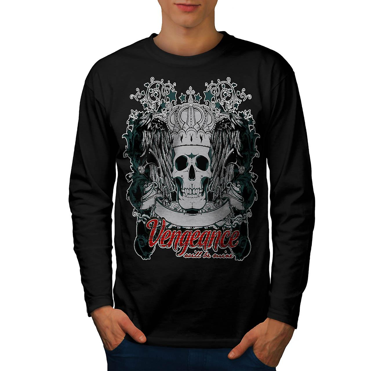 Vengeance Revenge Eye Thrones Men Black Long Sleeve T-shirt | Wellcoda