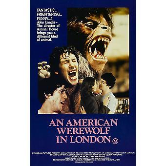 An American Werewolf In London Fine Art Print