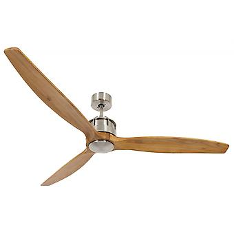 Energy-saving ceiling fan Airfusion Akmani Chrome brushed 152 cm / 60