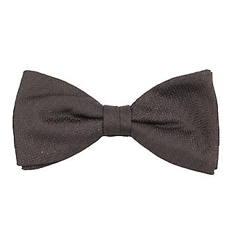 Silk bow tie silk bow tie look loop tie minimum black patterned