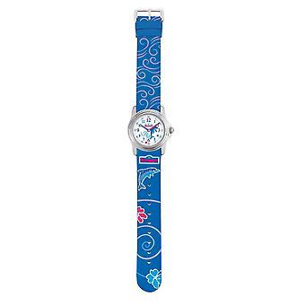 Scout montre enfant fille de bonbons Dolphin Watch bleu 280301013 d'apprentissage