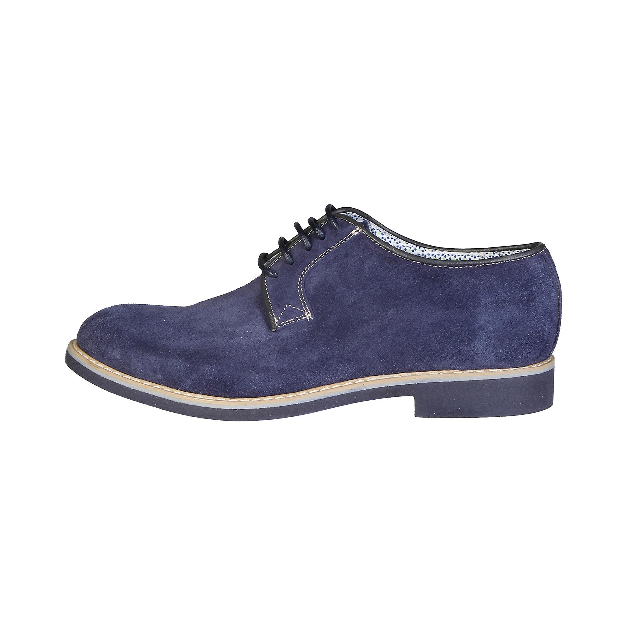 Made in Italia Men Lace up Blue