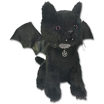 Spiral Soft Plush Winged Bat Cat