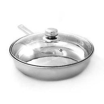 24cm Frying Pan with Glass Lid