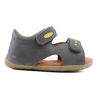 Bobux Step Up Boys Tiny Trekker Sandals Grey