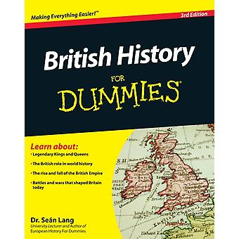 British History For Dummies (Paperback) by Lang Sean