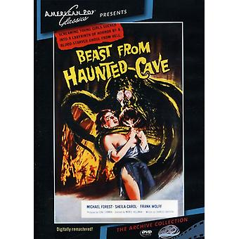 Beast From Haunted Cave (1959) [DVD] USA import