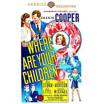 Where Are Your Children? [DVD] USA import