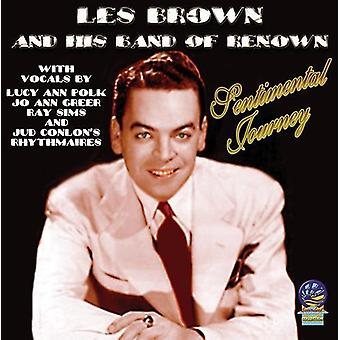Les Brown & His Band of Renown - Sentimental Journey [CD] USA import