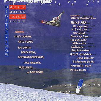 Various Artist - Digital Snow: Music Motion Picture Show [CD] USA import
