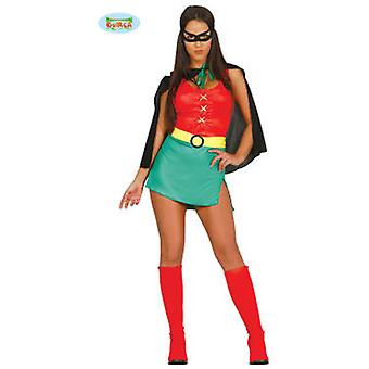 Guirca Disfraz Super Girl Adulta Talla M 38-40 (Costumes)