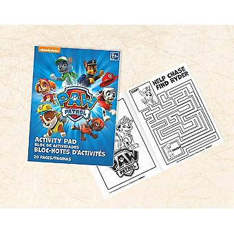 Paw Patrol Party Favor Activity Pad [Set of 8]