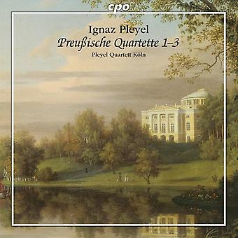 Pleyel - Prussian kvartetter 1-3 [CD] USA import