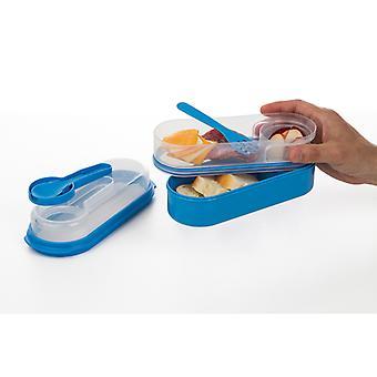 Progressive OTG Oval Lunch Box blau