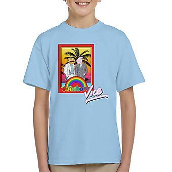 Rainbow Vice Kid's T-Shirt