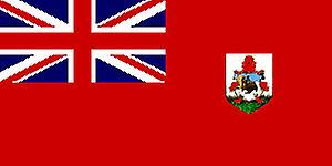 Bermudian Flag 5ft x 3ft With Eyelets For Hanging