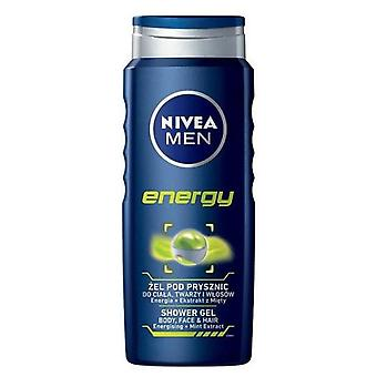 Nivea Men Energy Shower Gel (Mannen , Cosmetica , Body , Douche & Bad , Bath gels)
