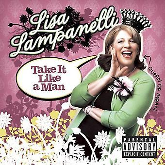 Lisa Lampanelli - tag det som en mand [CD] USA import
