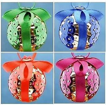 Pinflair Sequin & Pin Craft Kit to Make 20 Assorted Christmas Bauble Ornament