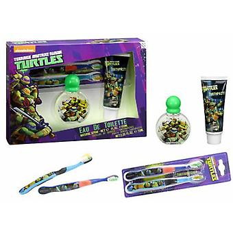 Tortugas Ninja Ninja Turtles Case (Cologne + Brush + Cream)
