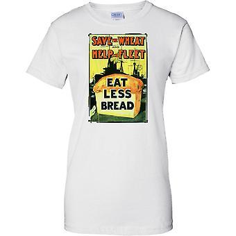 Lagre hvete - WW2 Propaganda plakat - allierte verdenskrig - damer T skjorte