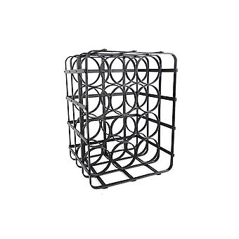 39CM FERRO WINE RACK GRANDE PER CASA RISTORANTE BAR DISPLAY DEI VINI