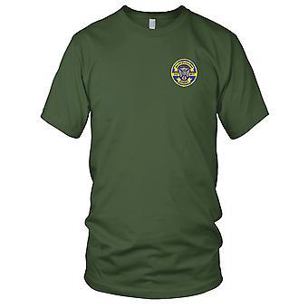 E.U. da Marinha USS DD-817 Corry bordada Patch - Mens T-Shirt
