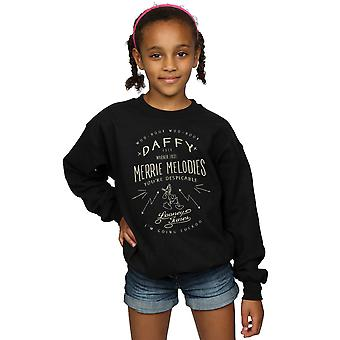 Looney Tunes Girls Daffy Duck Despicable Sweatshirt