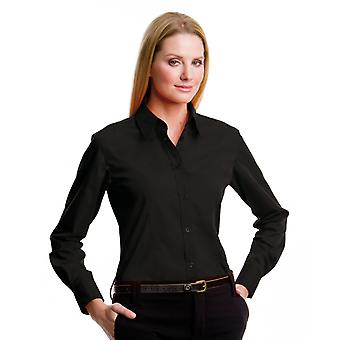 Kustom Kit Ladies L/S Workforce Shirt-KK729