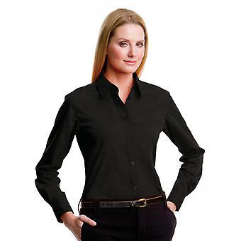 Kustom Kit senhoras L/S Workforce camisa-KK729