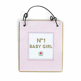 Heaven Sends No. 1 Baby Girl Sign
