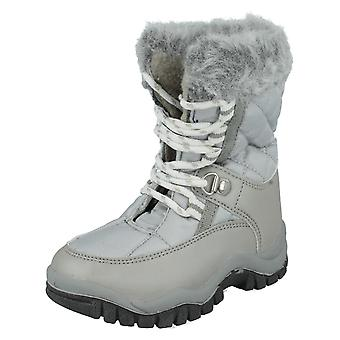 Barn snø støvler med pels Trim GSSB