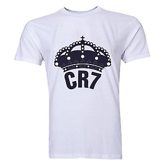 T-shirt de Cristiano Ronaldo CR7 Real Madrid (Blanc)