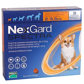 نيكسجارد الكلاب الصغيرة الأطياف X < 6Pk 3.5 كجم