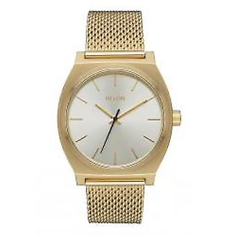 Nixon The Time Teller Milanese All Gold / Cream (A1187-2807)