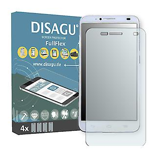 Alcatel one touch Idol 2 screen protector - DISAGU FullFlex protector