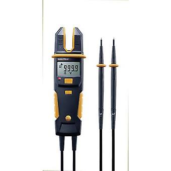 Handheld multimeter, Clamp meter Digital testo 755-2 Calibrated to: Manufacturer's standards (no certificate) CAT IV 60