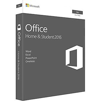 Microsoft Office 2016 Home & Student für MAC Full version, 1 license Mac OS Office package