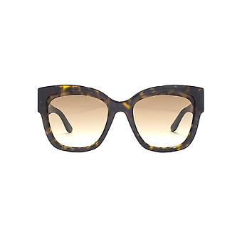 Jimmy Choo Roxi Sunglasses In Dark Havana