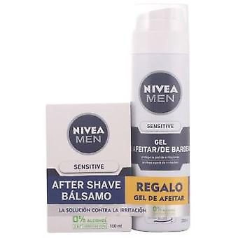 Nivea Cosmetics Men Sensitive Lot 2 Pieces (Hygiene and health , Gifts & packs)