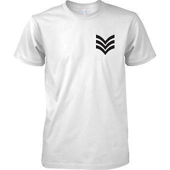RAF Sergeant - Royal Air Force T-Shirt Colour