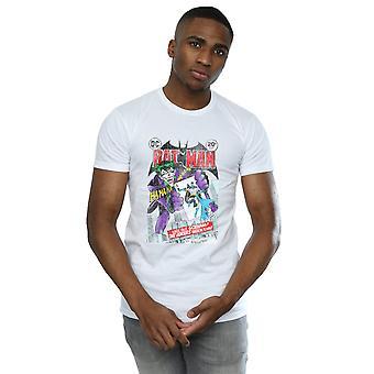 DC Comics Men's Batman Joker Playing Card Cover T-Shirt