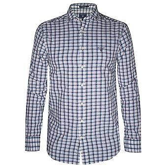 GANT GANT Dark Indigo Gingham Long-Sleeve Shirt