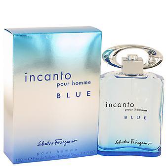 Salvatore Ferragamo Incanto Pour Homme Blue Eau de Toilette 100ml EDT Spray