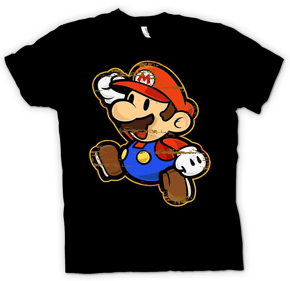 Womens T-shirt - Mario - Gamer